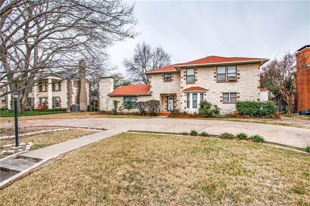 7730 Southwestern Boulevard, Dallas, TX 75225 (MLS #14164147) :: The Heyl Group at Keller Williams