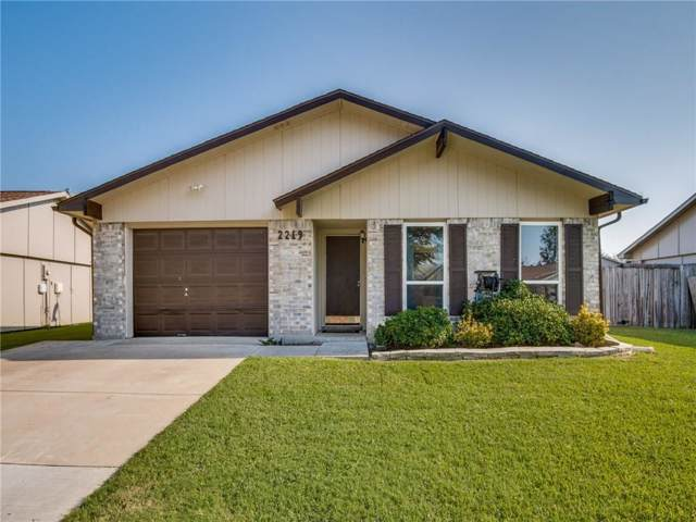 2219 Lockwood Drive, Carrollton, TX 75007 (MLS #14164171) :: NewHomePrograms.com LLC