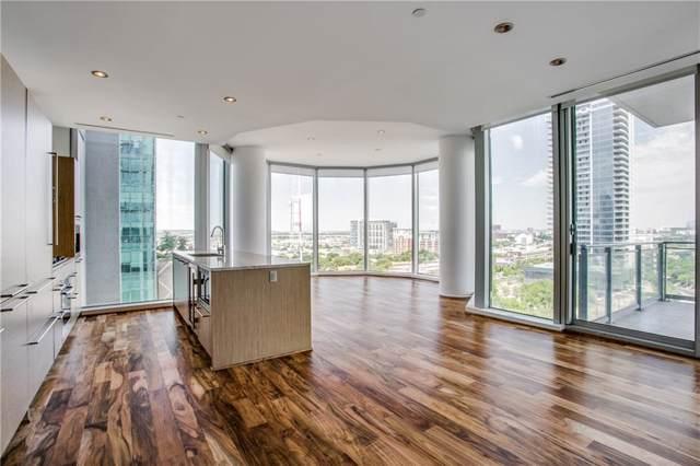 2900 Mckinnon Street #1004, Dallas, TX 75201 (MLS #14164235) :: Front Real Estate Co.