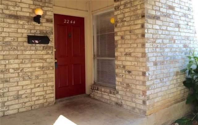 2244 Village North Drive #2244, Richardson, TX 75081 (MLS #14164471) :: The Good Home Team
