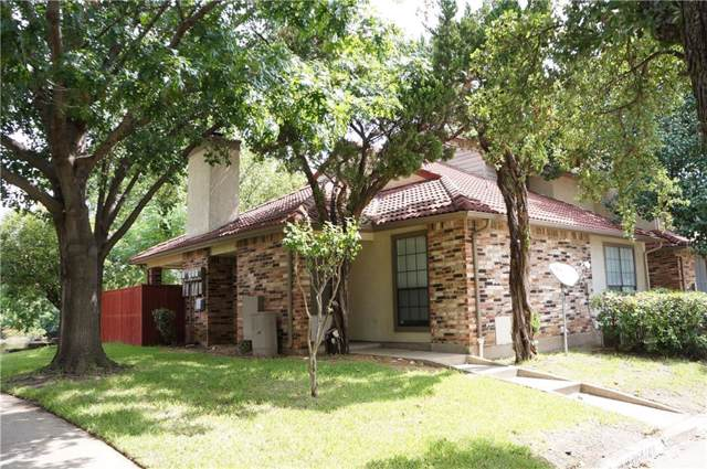 1029 Turtle Lake Boulevard #109, Irving, TX 75060 (MLS #14164474) :: Lynn Wilson with Keller Williams DFW/Southlake