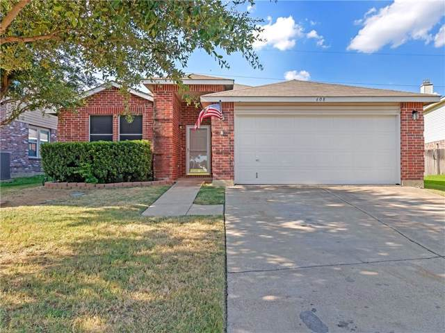608 Granite Ridge Drive, Fort Worth, TX 76179 (MLS #14164526) :: Ann Carr Real Estate