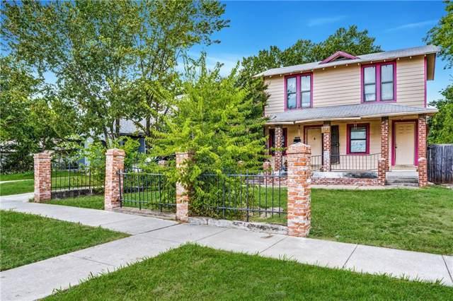 1147 N Madison Avenue, Dallas, TX 75208 (MLS #14164587) :: Baldree Home Team
