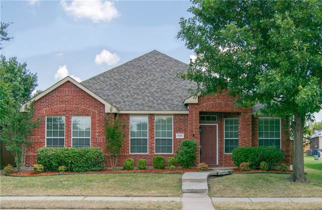 1549 Sandstone Drive, Allen, TX 75002 (MLS #14164623) :: The Daniel Team