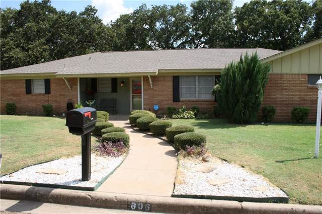 606 SE 22nd Street, Mineral Wells, TX 76067 (MLS #14164635) :: All Cities Realty