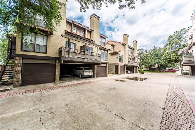 5757 E University Boulevard 25D, Dallas, TX 75206 (MLS #14164646) :: The Hornburg Real Estate Group