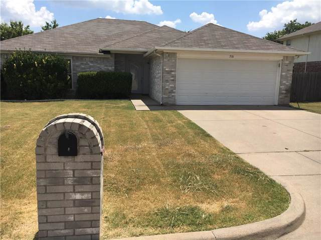 516 E Oak Street, Aledo, TX 76008 (MLS #14164649) :: Team Hodnett