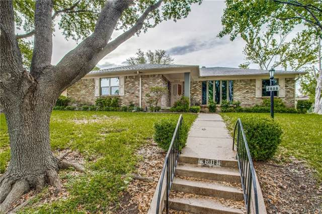 4808 Ashbrook Road, Dallas, TX 75227 (MLS #14164830) :: The Mitchell Group