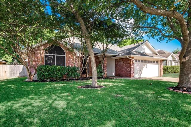 7621 Harmony Drive, Fort Worth, TX 76133 (MLS #14164901) :: Team Hodnett