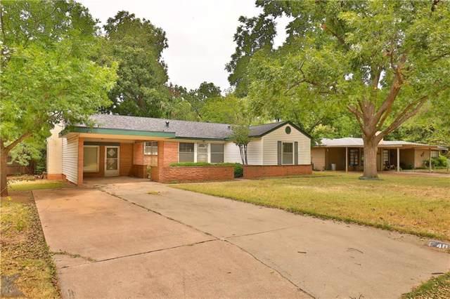 4042 Monticello Street, Abilene, TX 79605 (MLS #14164922) :: HergGroup Dallas-Fort Worth