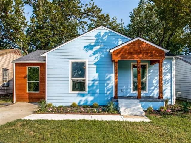 2239 Fordham Road, Dallas, TX 75216 (MLS #14165059) :: HergGroup Dallas-Fort Worth