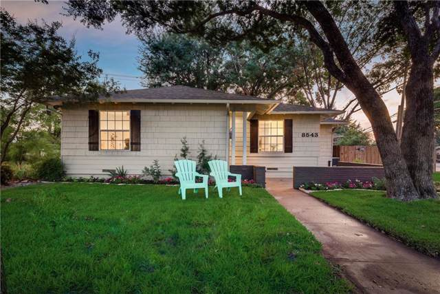 8543 Glencrest Lane, Dallas, TX 75209 (MLS #14165081) :: Kimberly Davis & Associates