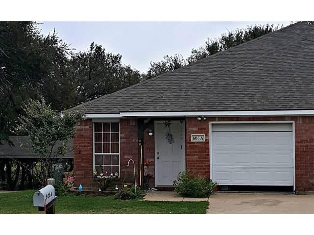606 E Oak Street A, Wylie, TX 75098 (MLS #14165168) :: Tenesha Lusk Realty Group