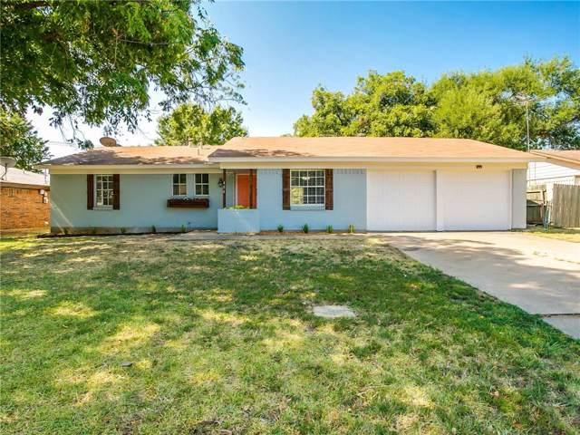 404 E Bovell Street, Crowley, TX 76036 (MLS #14165233) :: Ann Carr Real Estate