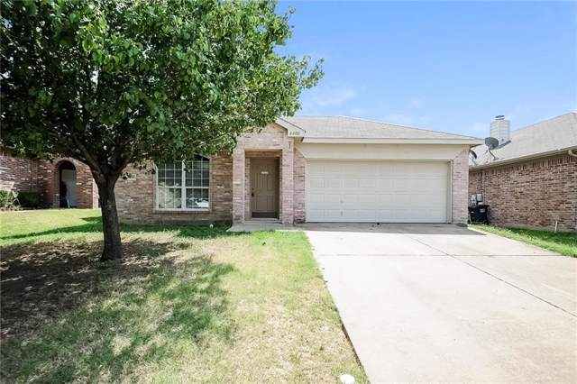 6400 Bay Lake Drive, Fort Worth, TX 76179 (MLS #14165352) :: The Heyl Group at Keller Williams
