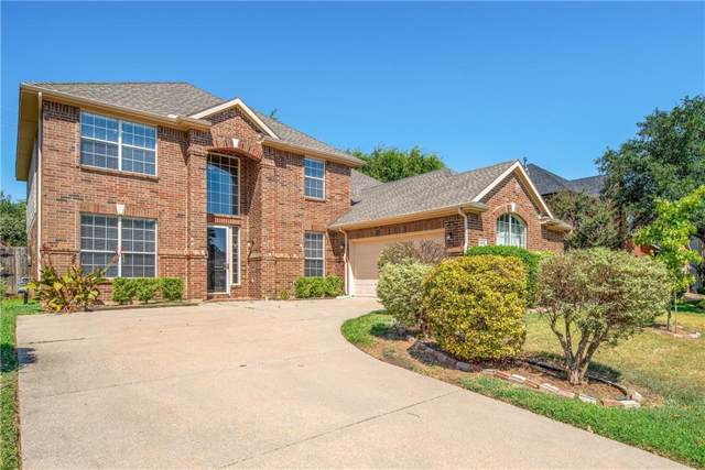 205 Lake Village Drive, Mckinney, TX 75071 (MLS #14165450) :: All Cities Realty
