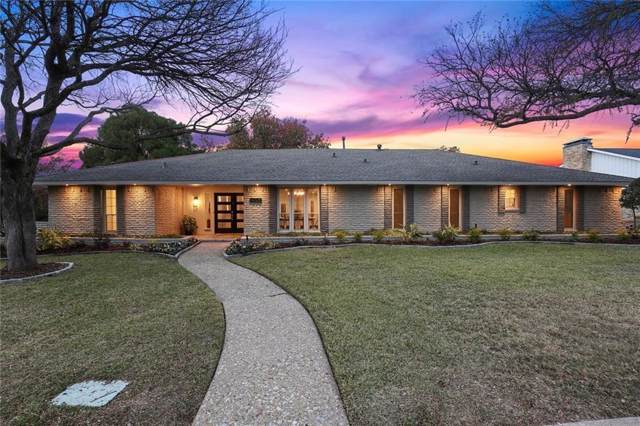 4005 Mendenhall Drive, Dallas, TX 75244 (MLS #14165526) :: The Real Estate Station