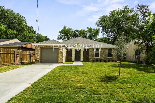 4154 Gladewater Road, Dallas, TX 75216 (MLS #14165602) :: RE/MAX Town & Country