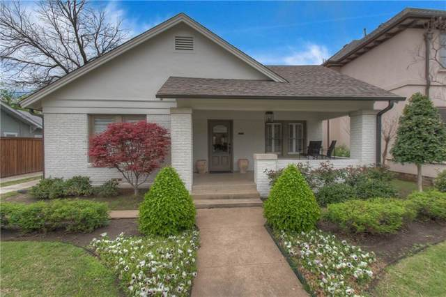 4057 W 7th Street, Fort Worth, TX 76107 (MLS #14165611) :: Team Hodnett