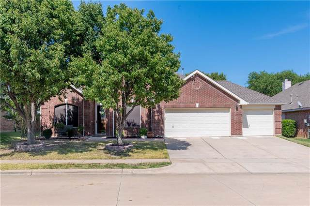 5225 Dove Creek Drive, Fort Worth, TX 76244 (MLS #14165676) :: Kimberly Davis & Associates