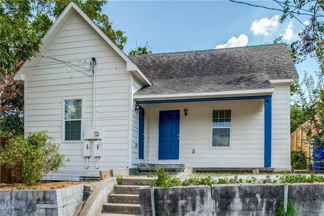 812 Sabine Street, Dallas, TX 75203 (MLS #14165705) :: HergGroup Dallas-Fort Worth