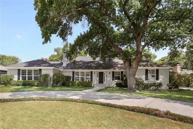 7631 Northaven Road, Dallas, TX 75230 (MLS #14165734) :: The Hornburg Real Estate Group
