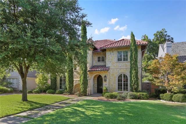 4404 Hanover Street, University Park, TX 75225 (MLS #14165756) :: Robbins Real Estate Group