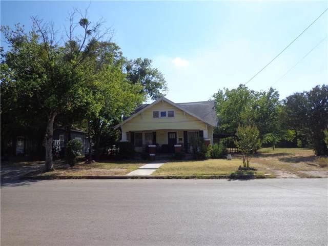 1607 3rd Street, Brownwood, TX 76801 (MLS #14165790) :: The Heyl Group at Keller Williams