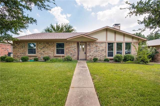 1004 Bellflower Court, Carrollton, TX 75007 (MLS #14165801) :: Tenesha Lusk Realty Group