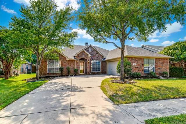 1119 Postwood Drive, Corinth, TX 76210 (MLS #14165843) :: The Mitchell Group