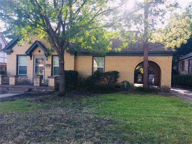 2529 S University Drive, Fort Worth, TX 76109 (MLS #14165875) :: The Heyl Group at Keller Williams