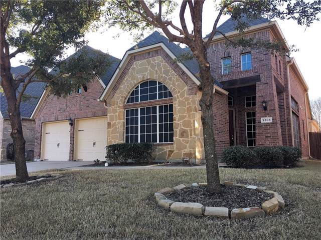 3505 New Castle Court, Richardson, TX 75082 (MLS #14165878) :: Team Tiller