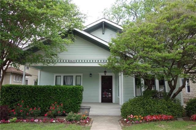 1820 College Avenue, Fort Worth, TX 76110 (MLS #14165918) :: The Hornburg Real Estate Group