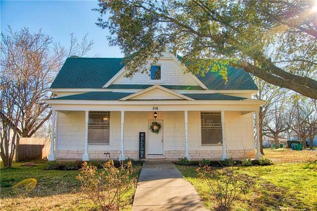 316 W South Street, Whitesboro, TX 76273 (MLS #14166015) :: The Paula Jones Team | RE/MAX of Abilene
