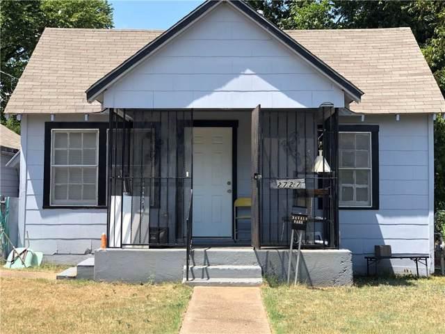 2727 Marjorie Avenue, Dallas, TX 75216 (MLS #14166094) :: Ann Carr Real Estate