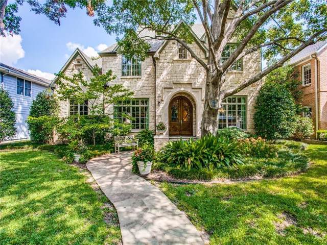 3020 Purdue Avenue, University Park, TX 75225 (MLS #14166109) :: Robbins Real Estate Group