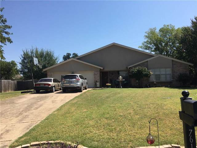 7613 Fox River Court, Fort Worth, TX 76120 (MLS #14166212) :: The Chad Smith Team