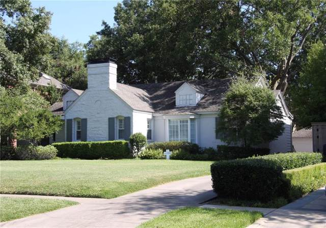 3637 Greenbrier Drive, University Park, TX 75225 (MLS #14166618) :: Robbins Real Estate Group