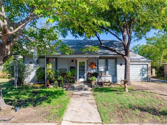 1509 Avenue J, Brownwood, TX 76801 (MLS #14166832) :: The Rhodes Team