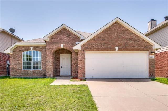 3512 Cripple Creek Trail, Fort Worth, TX 76262 (MLS #14166837) :: The Heyl Group at Keller Williams