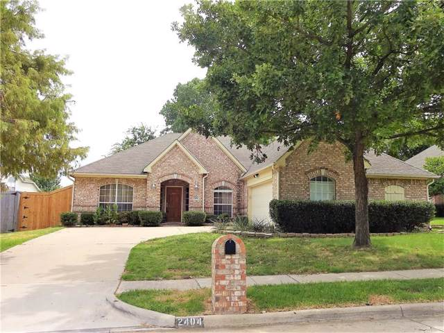 2404 Shenandoah Trail, Denton, TX 76210 (MLS #14166926) :: The Heyl Group at Keller Williams