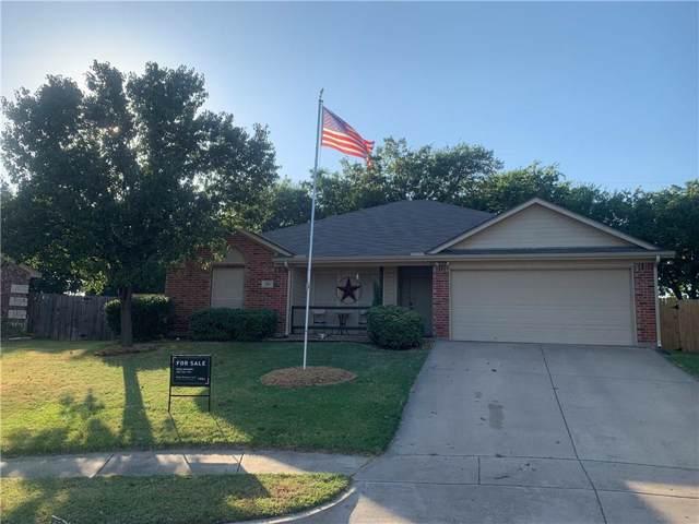 586 Tanglewood Drive, Burleson, TX 76028 (MLS #14166933) :: The Rhodes Team