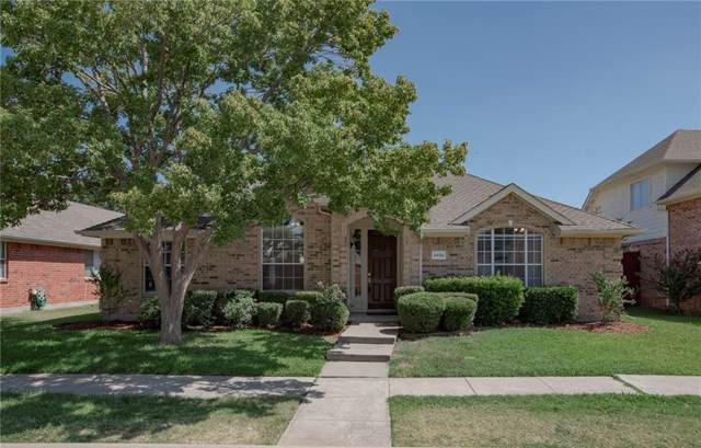 2402 Valley Creek Drive, Garland, TX 75040 (MLS #14167011) :: The Good Home Team