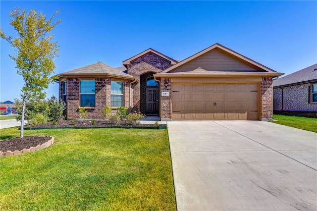 401 Keenland Way, Ponder, TX 76259 (MLS #14167049) :: The Real Estate Station