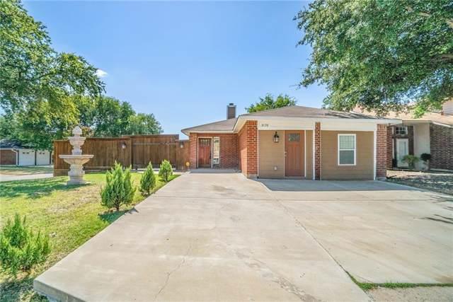 3175 Cross Creek Circle, Grand Prairie, TX 75052 (MLS #14167161) :: Ann Carr Real Estate