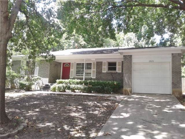2820 Raton Drive, Fort Worth, TX 76116 (MLS #14167329) :: Team Tiller
