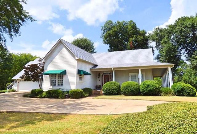 102 Hillcrest Dr, Hughes Springs, TX 75656 (MLS #14167334) :: The Real Estate Station