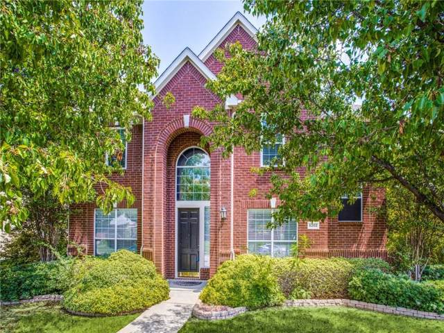 6202 Hunters Parkway, Frisco, TX 75035 (MLS #14167601) :: The Real Estate Station