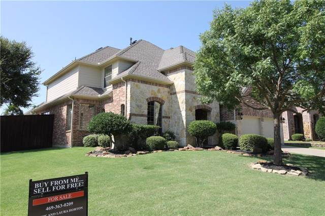 4701 Christopher Court, Flower Mound, TX 75022 (MLS #14167619) :: The Tierny Jordan Network