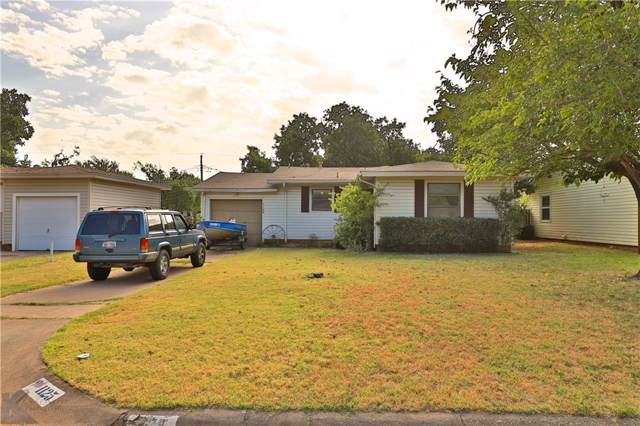 1125 S San Jose Drive, Abilene, TX 79605 (MLS #14167707) :: The Mitchell Group